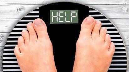 Personas con sobre peso