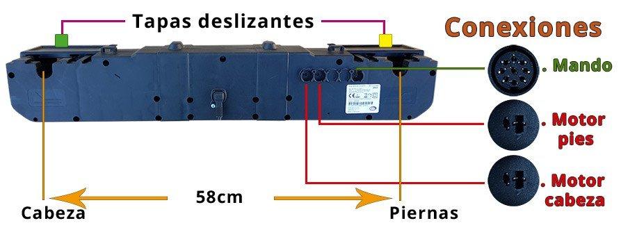Motor Cama Elevadora Limoss MD 200 M2