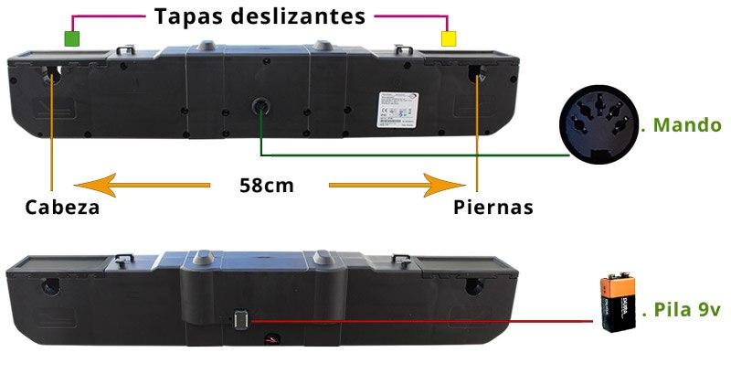 Colocación motor Limoss MD200 M0