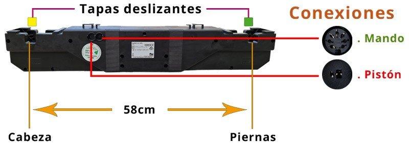 Conexiones Motor Okimat